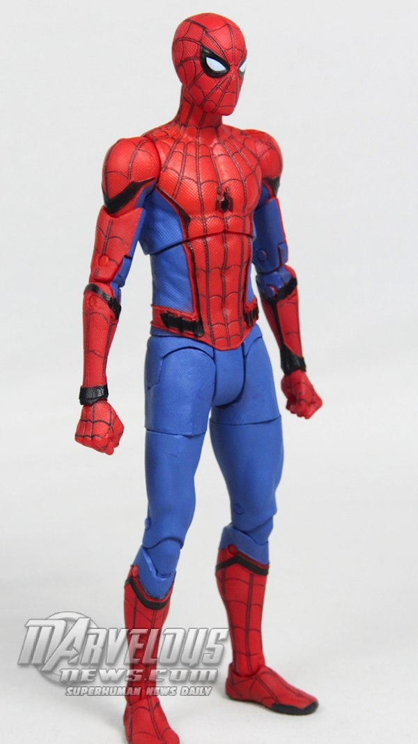 marvel select spider man homecoming review