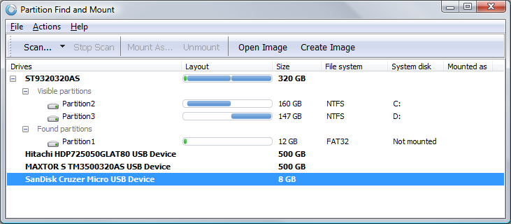 partition find and mount review