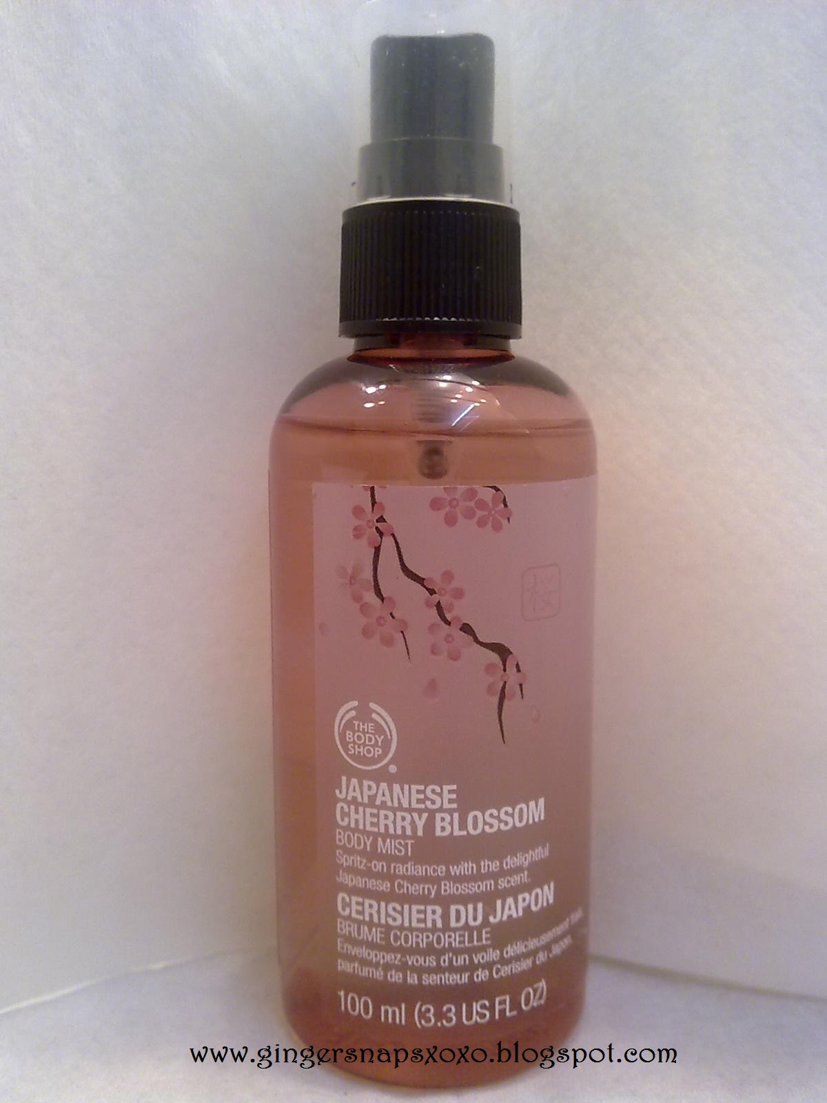 review japanese cherry blossom the body shop indonesia