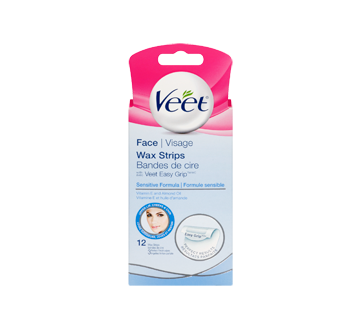 veet upper lip wax strips reviews