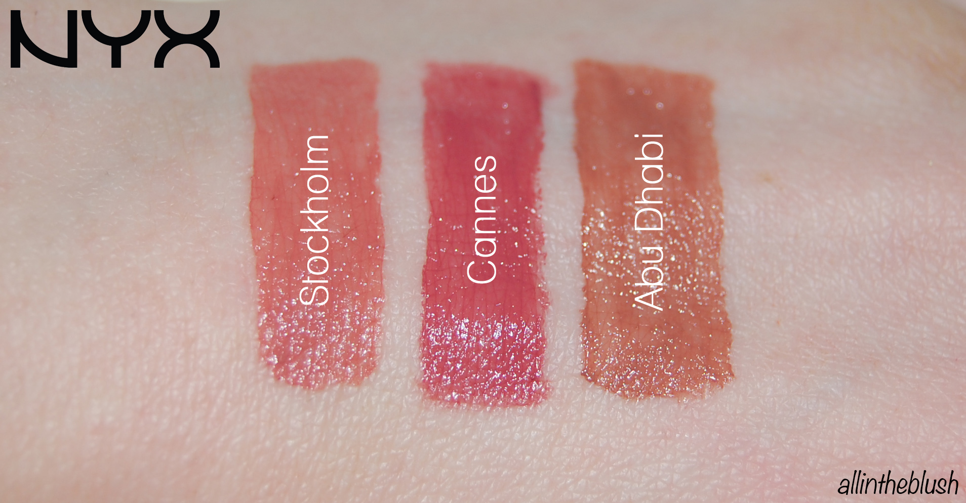 nyx lip cream stockholm review