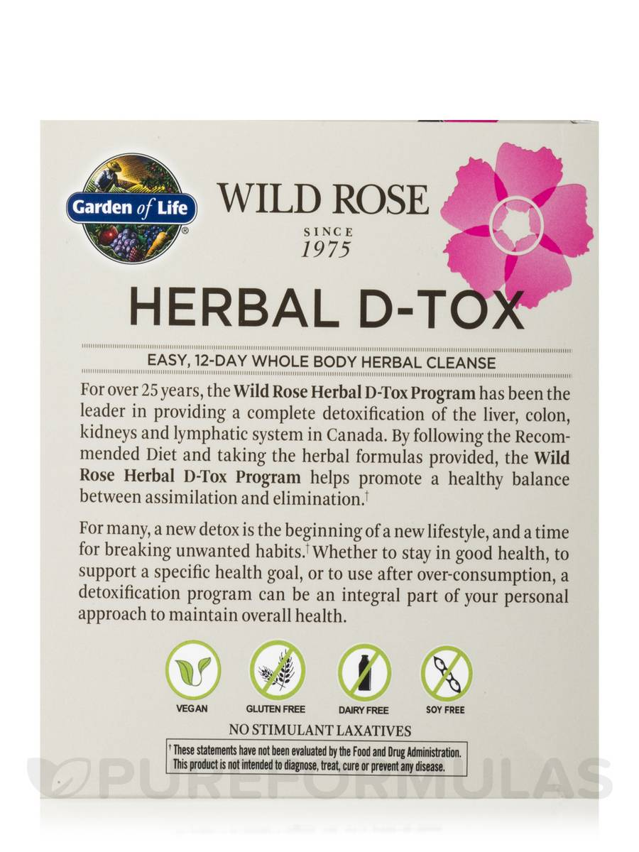 wild rose herbal d tox 12 day program reviews