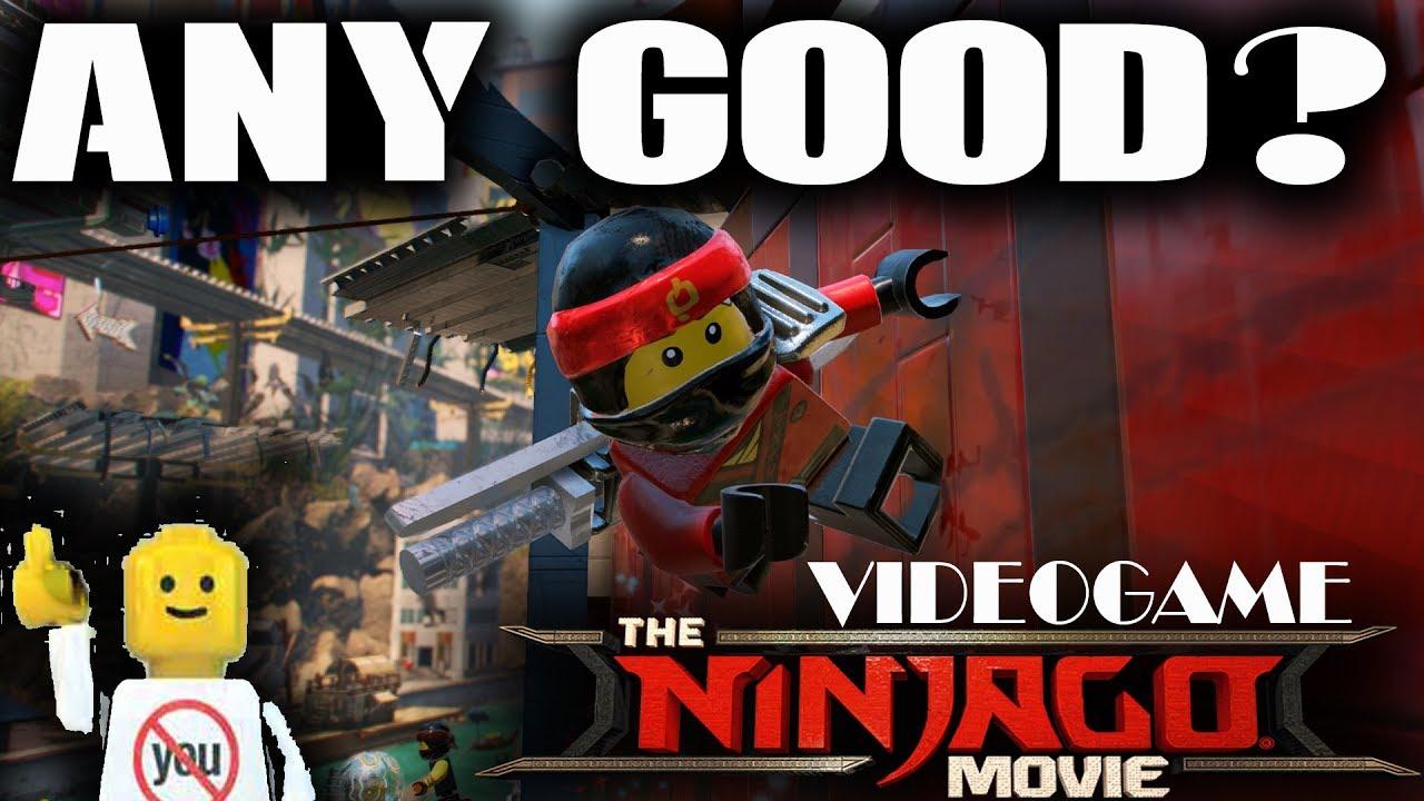 lego ninjago movie game review