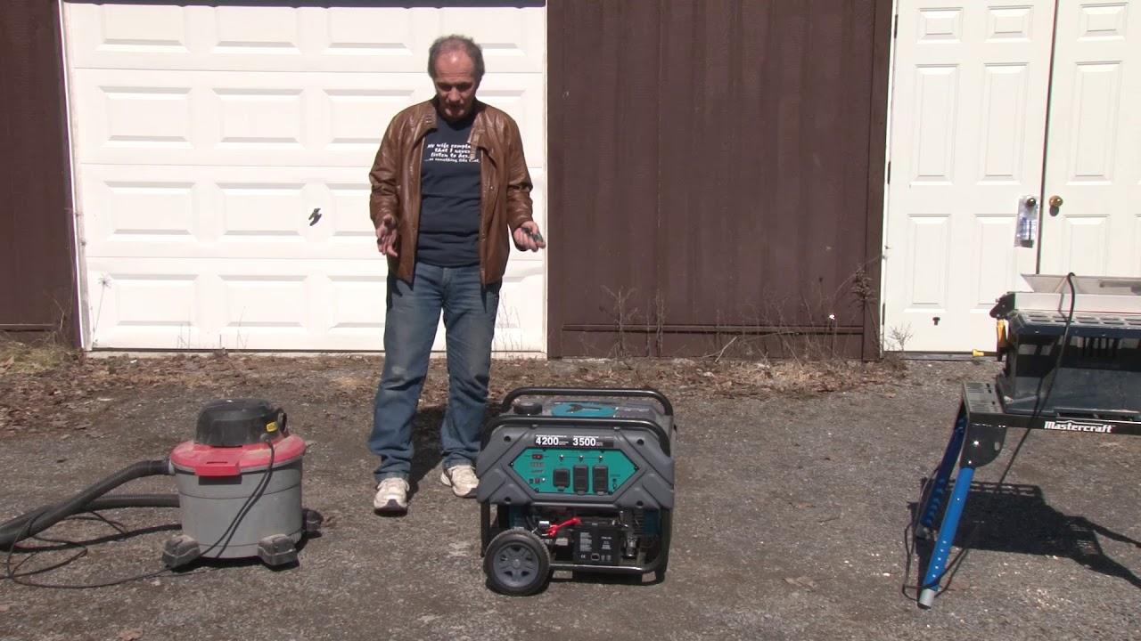 yardworks 3500w 4200w generator review