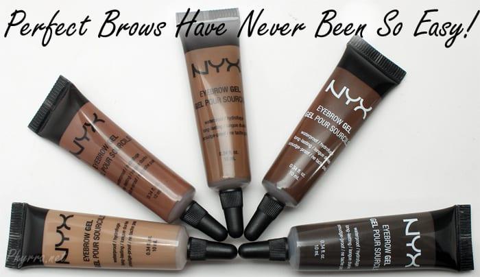 nyx eyebrow gel espresso review