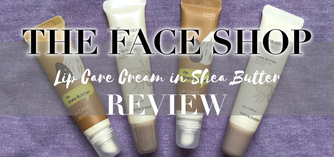 the face shop lip care cream review
