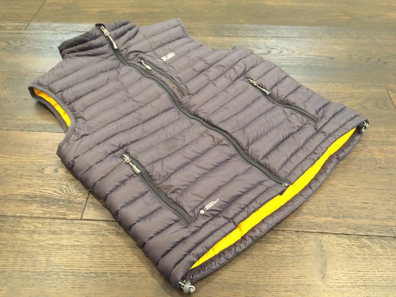 rab microlight down vest review
