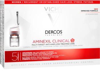 vichy dercos aminexil pro female hair loss treatment reviews