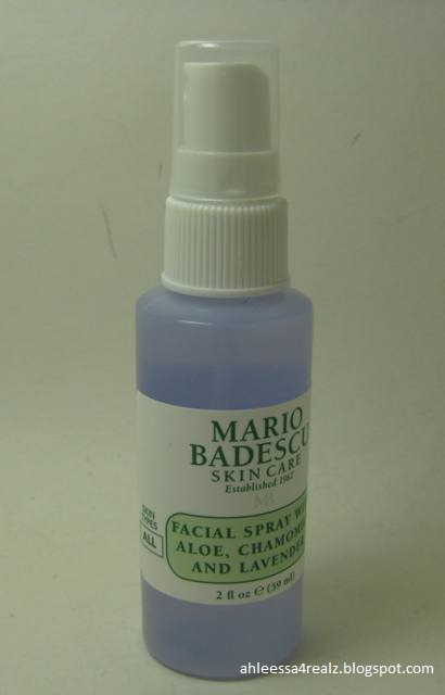 mario badescu facial spray cucumber review