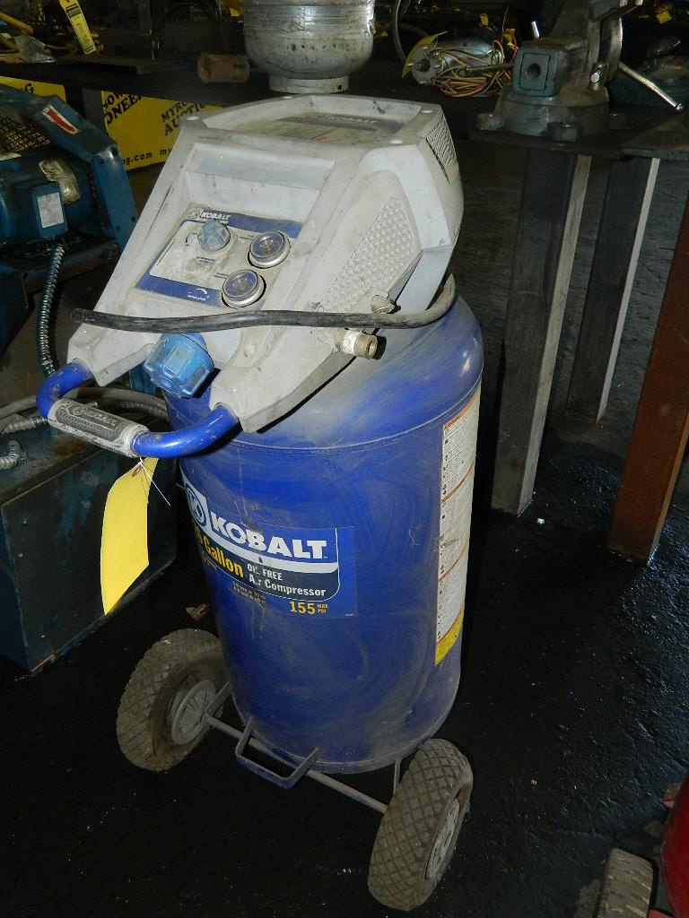 kobalt 26 gallon air compressor review