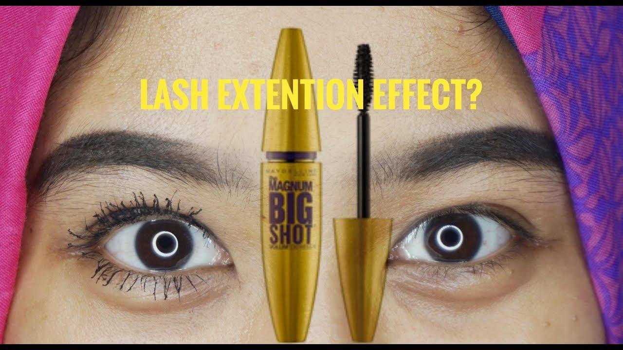 maybelline magnum big shot mascara review