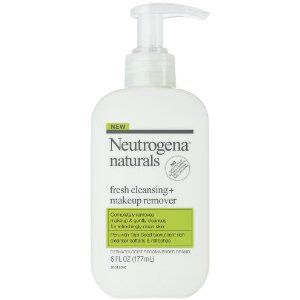neutrogena naturals cleanser and makeup remover review