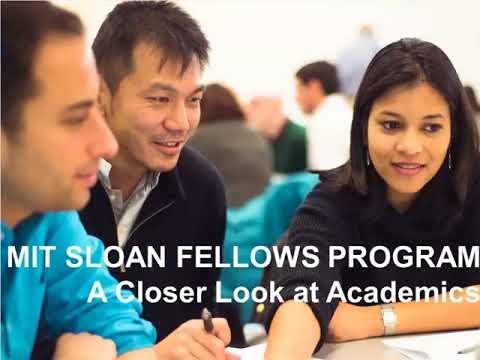mit sloan fellows program review