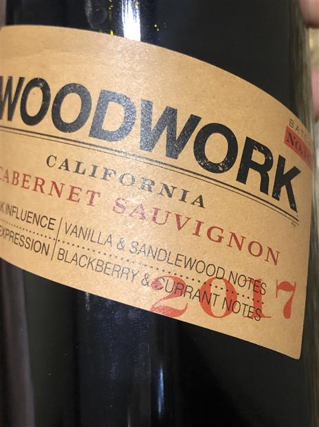 woodwork cabernet sauvignon 2015 review