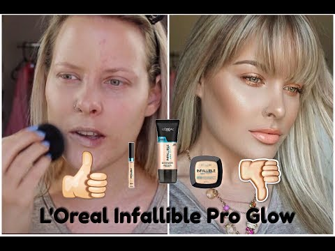 infallible pro glow concealer review