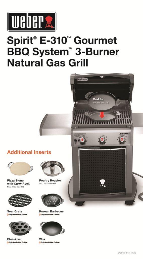 weber grills spirit e 310 reviews