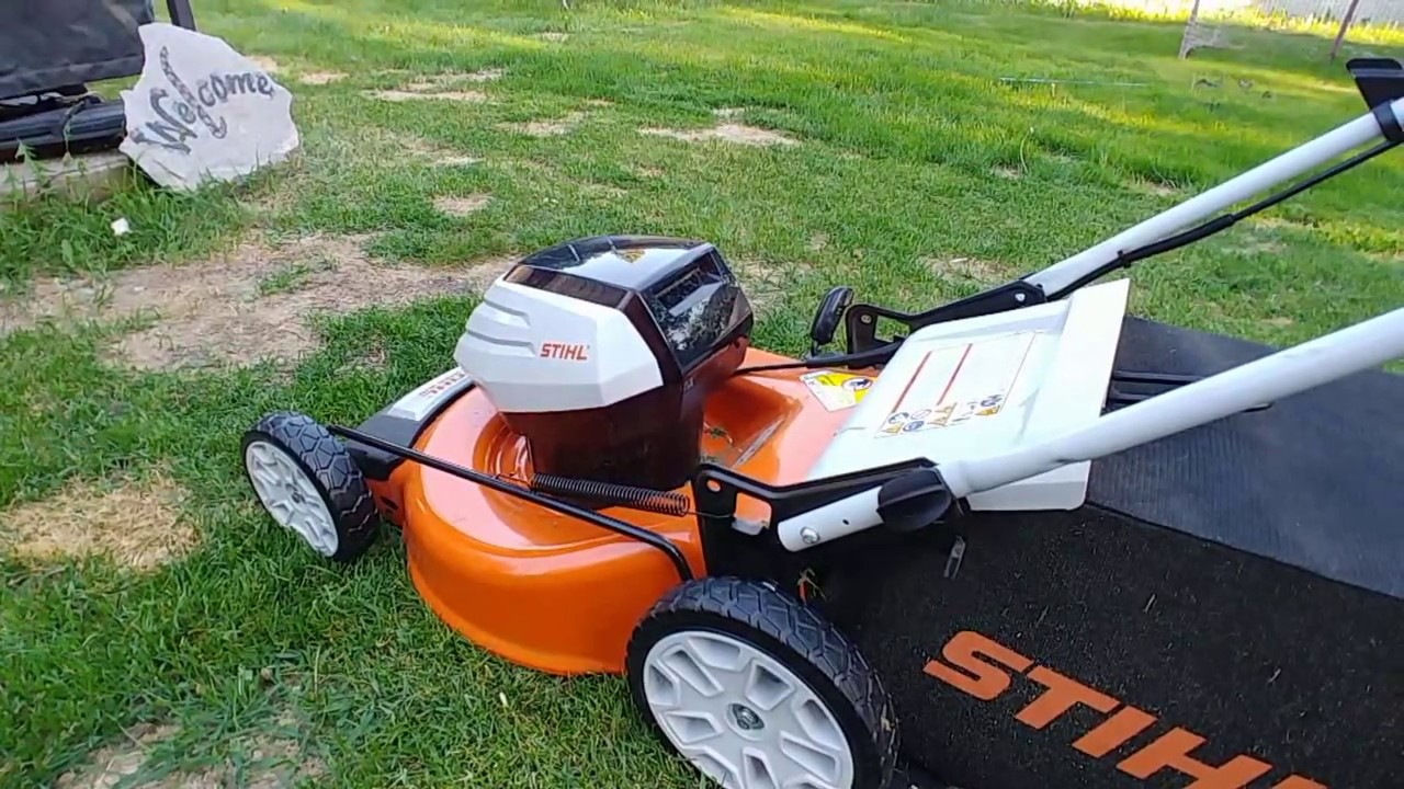 solar powered lawn mower review