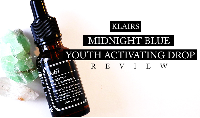 midnight blue youth activating drop review