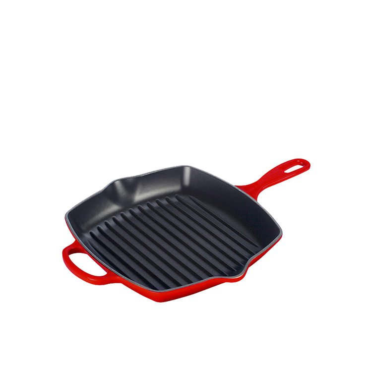 le creuset square grill pan review