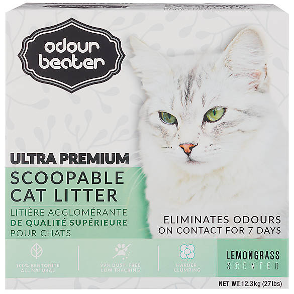 odour beater cat litter review