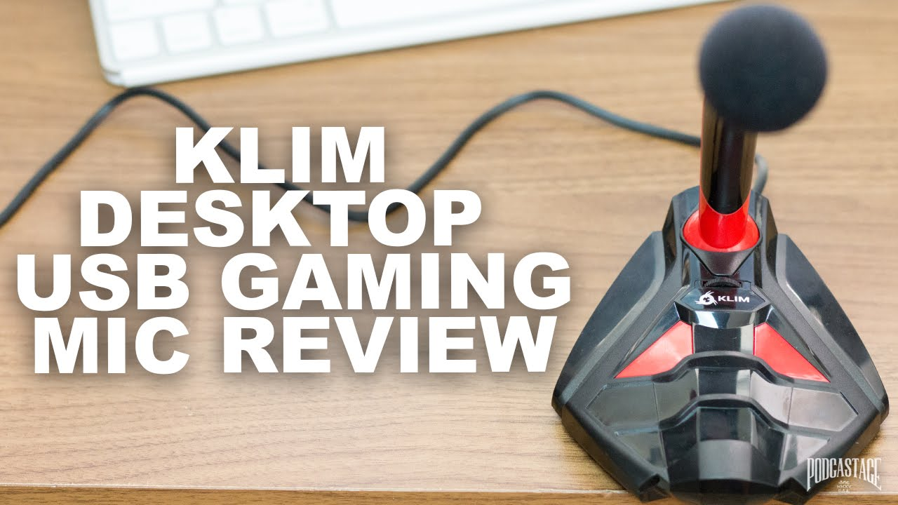 klim desktop usb microphone review