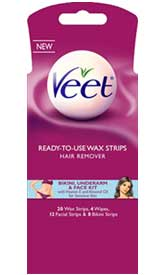 veet wax strips for underarms review