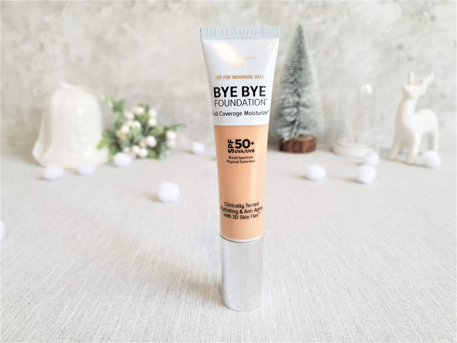 it makeup reviews bye bye foundation