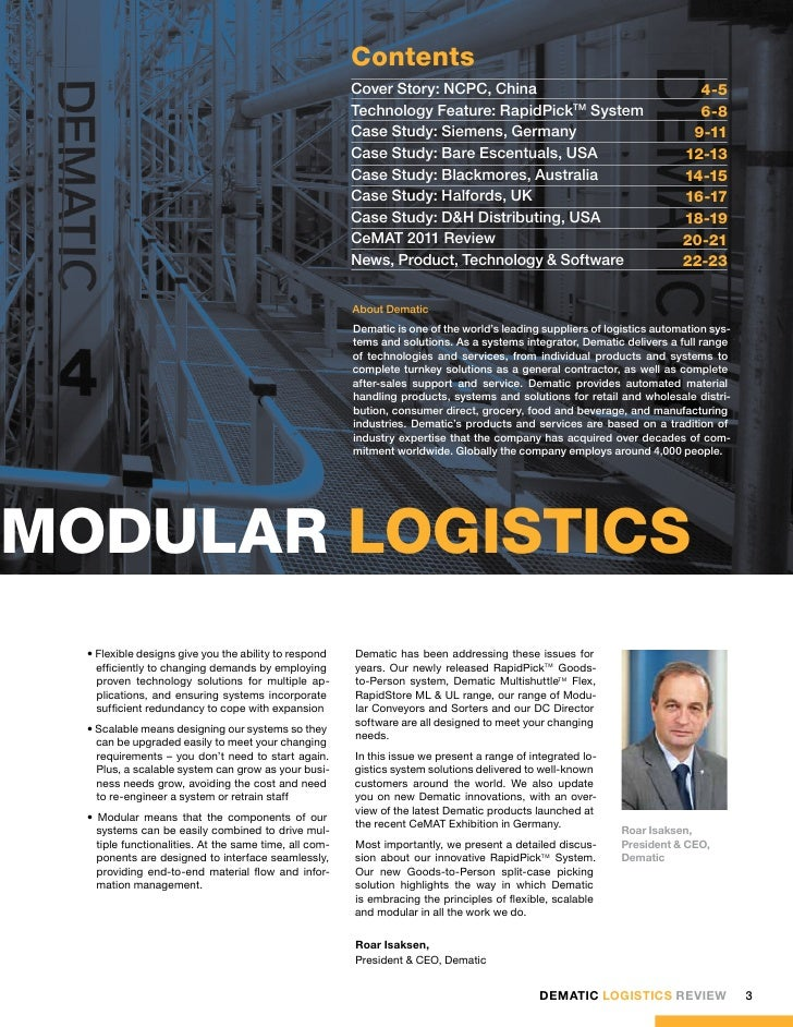 its technologies and logistics reviews