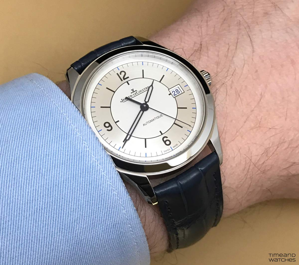jaeger lecoultre master control date review