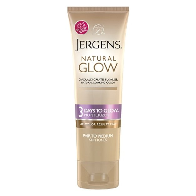 jergens natural glow light to medium review
