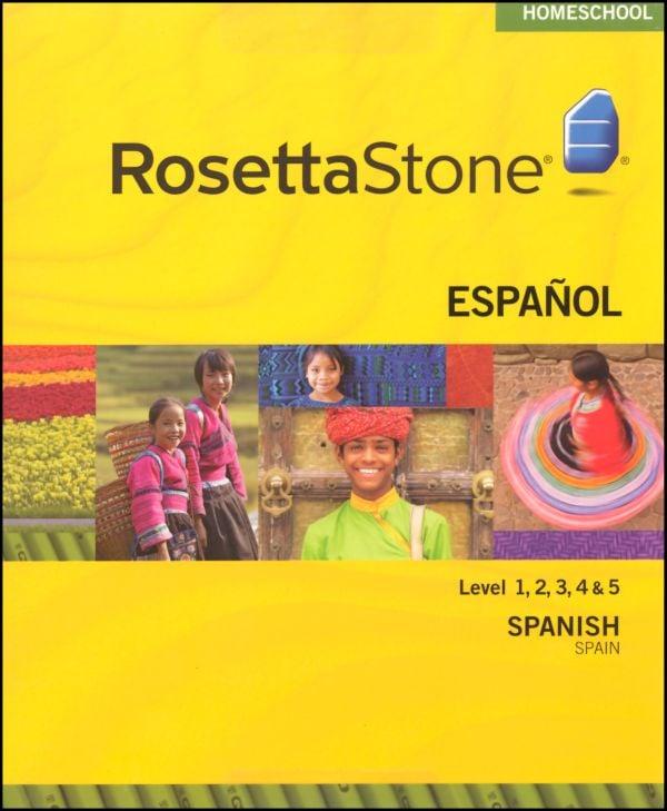 learn spanish rosetta stone review