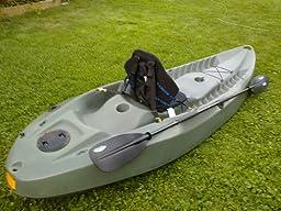 lifetime sport fisher kayak review