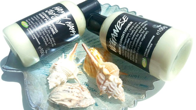 lush happy happy joy joy conditioner review