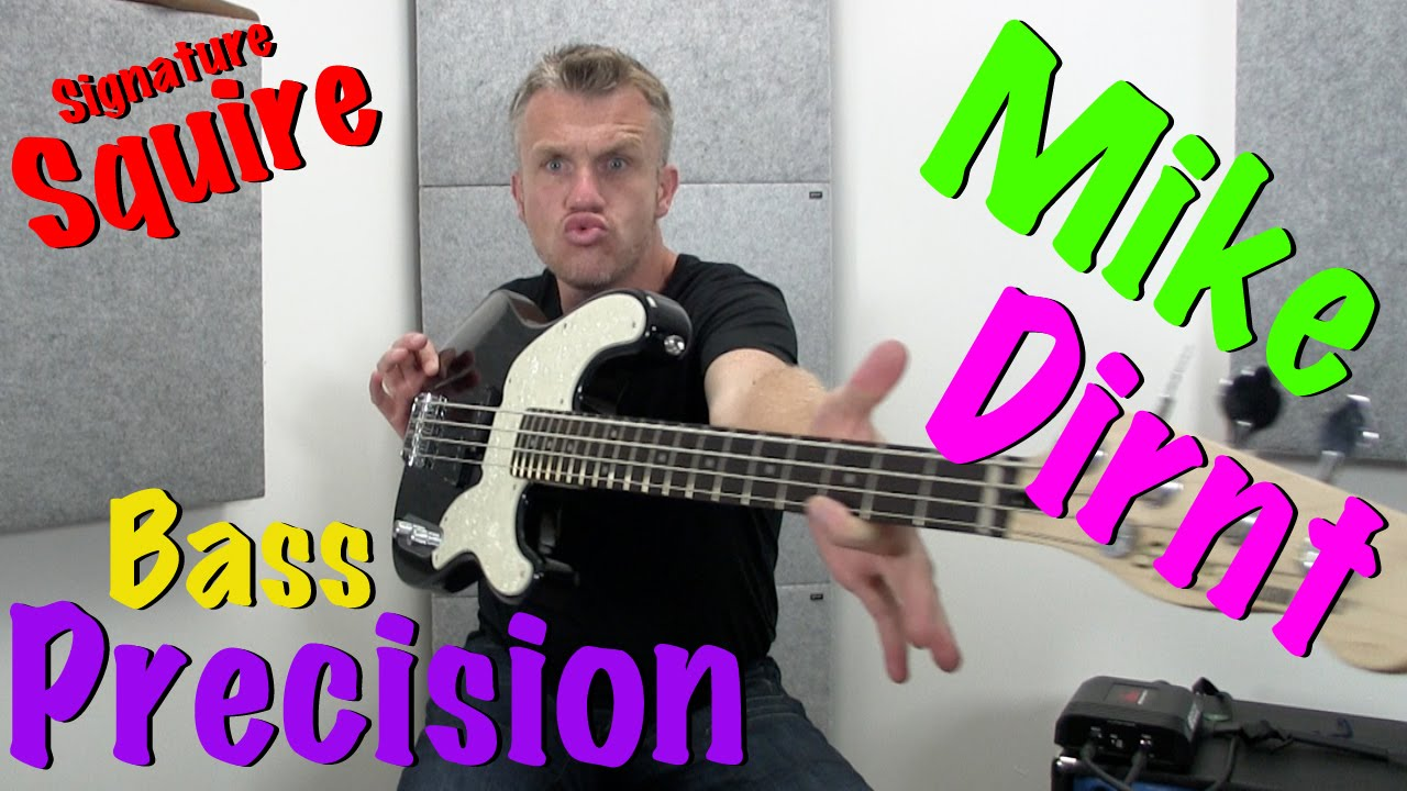 mike dirnt precision bass review