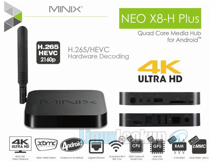 minix x8 h plus review