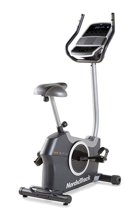 nordictrack gx 2.7 upright bike reviews