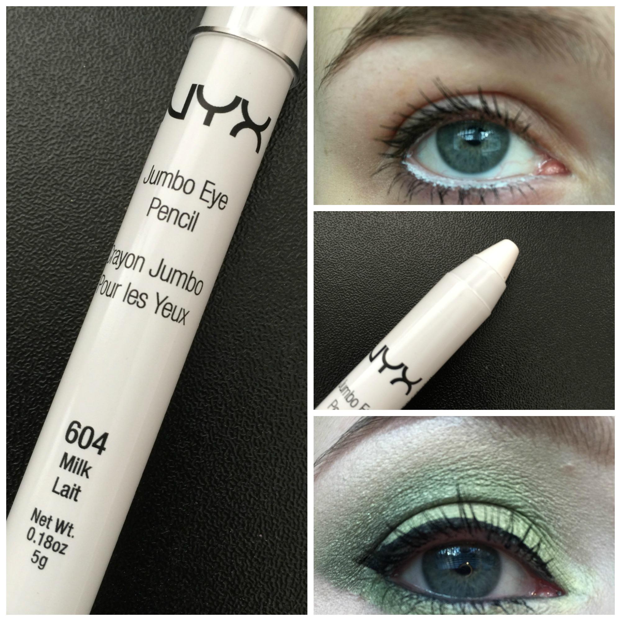 nyx eye pencil milk review