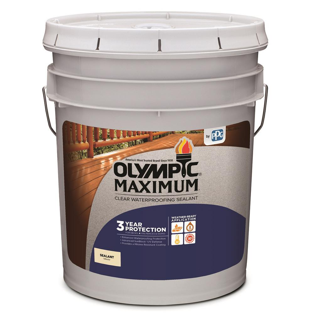 olympic maximum waterproofing sealant review