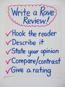 rave reviews in a sentence